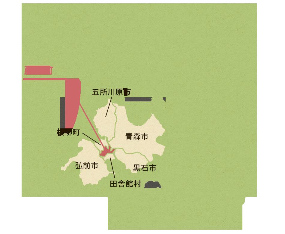 藤崎町周辺の観光スポット